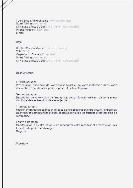 Lettre De Motivation Pour Un Service Civique Service Civique Lettre De Motivation