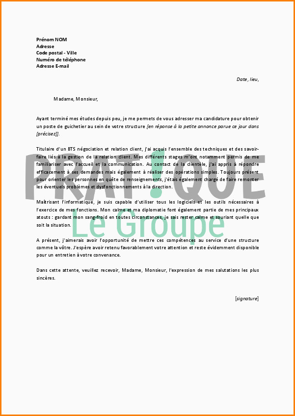 Lettre De Motivation Reconversion Professionnelle Exemple Lettre De Motivation Pour Reconversion Professionnelle