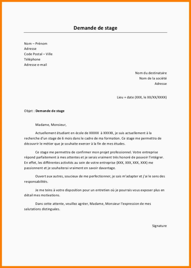 Lettre De Motivation Reconversion Professionnelle Lettre De Motivation Creche Stage