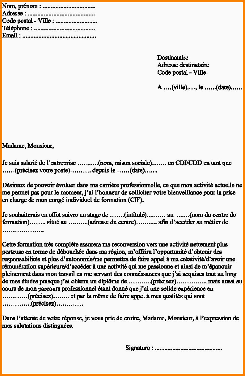 Lettre De Motivation Reconversion Professionnelle Lettre De Motivation De Stage Professionnel