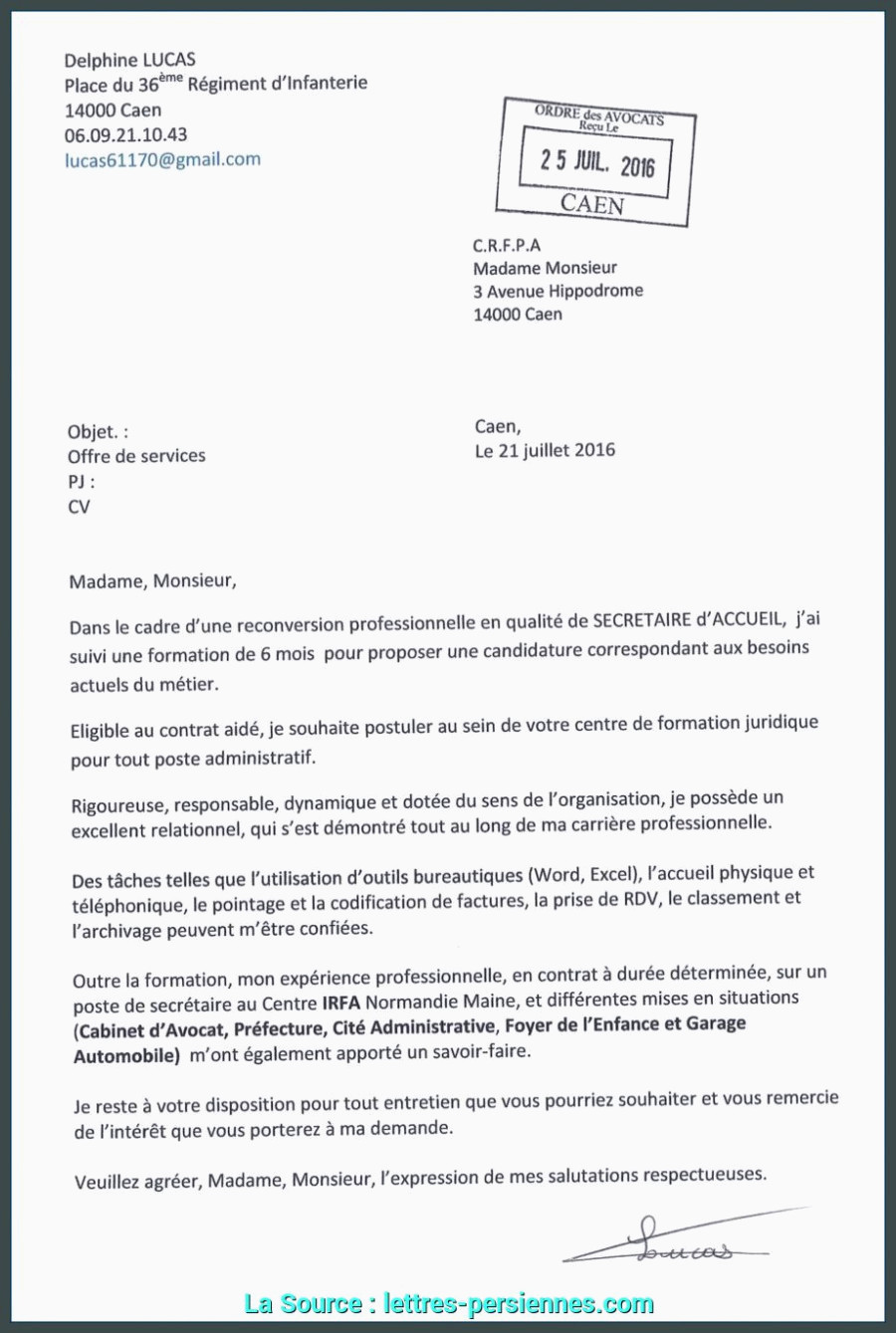 Lettre De Motivation Reconversion Professionnelle Parfait Lettre De Motivation Demande De formation Reconversion