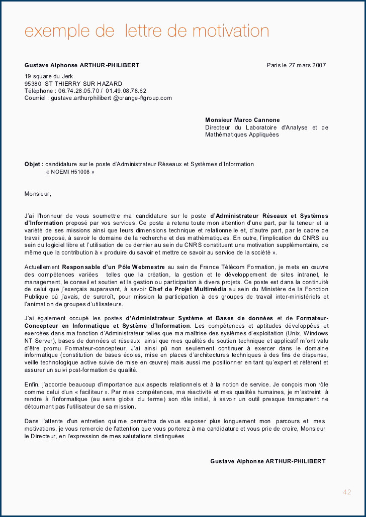 Lettre De Motivation Sciences Po Master 85 Lettre De Motivation Projet Professionnel Exemple