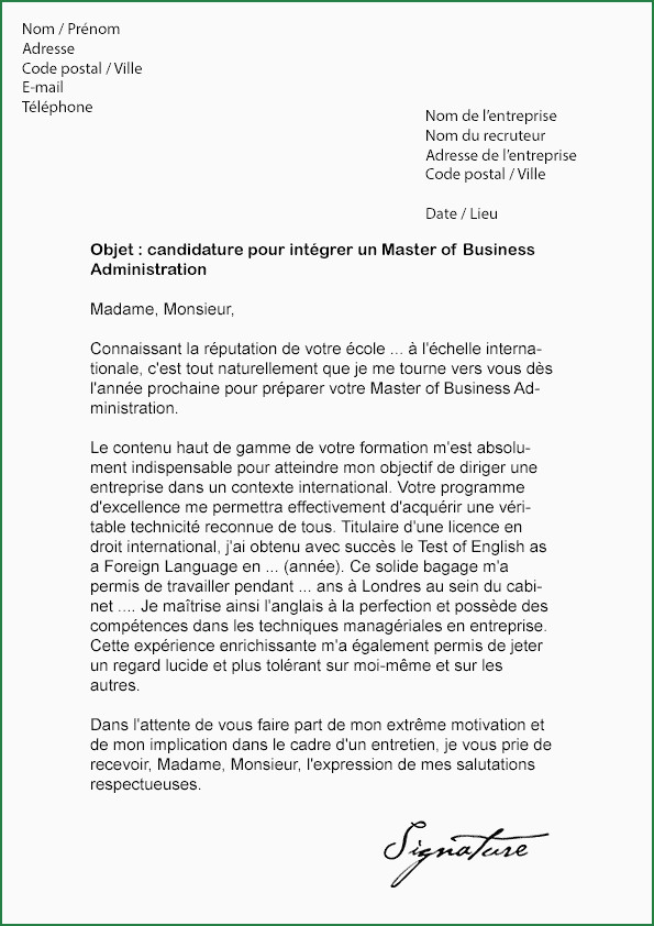Lettre De Motivation Sciences Po Master Blairsvillepa