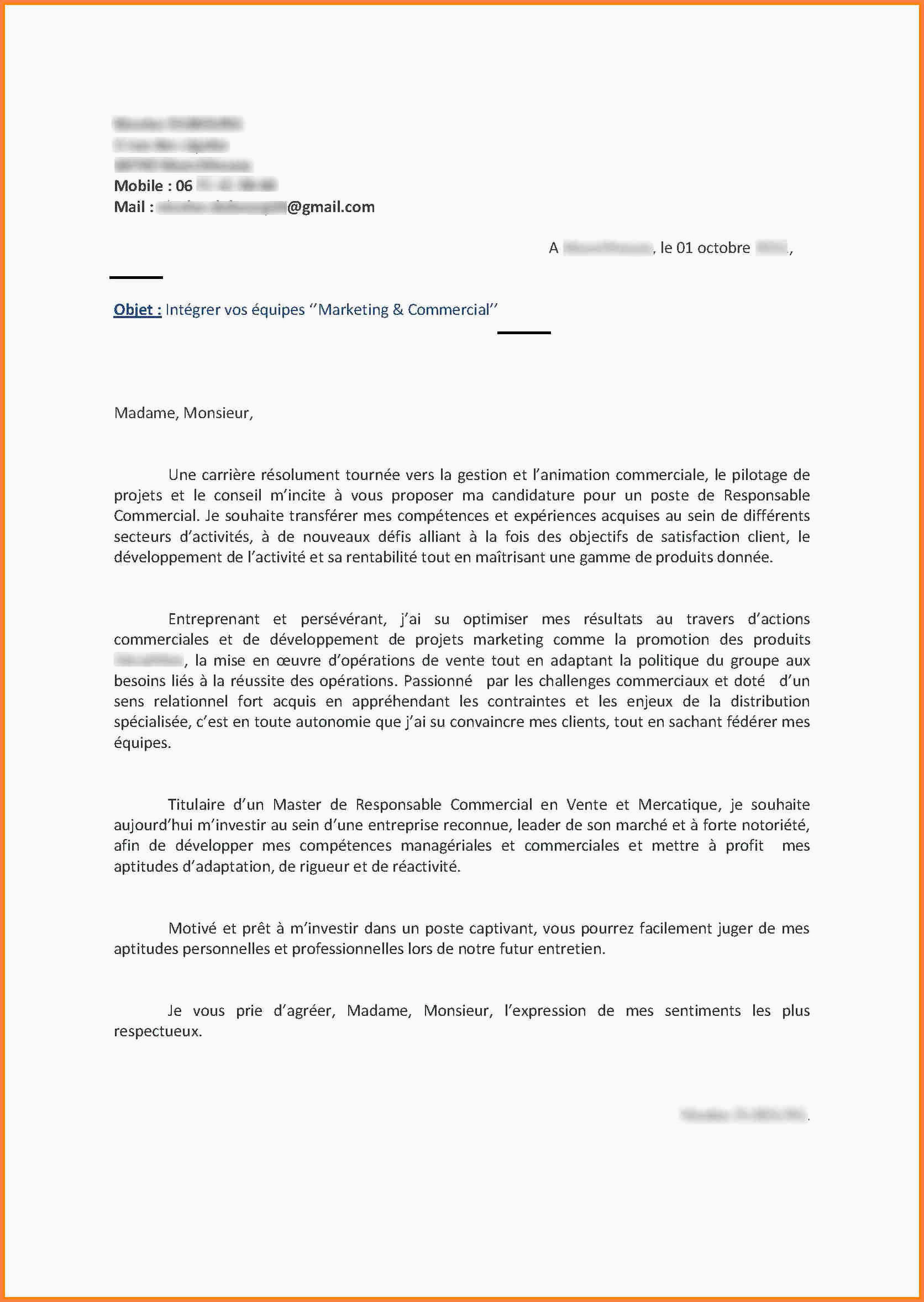 Lettre De Motivation Stage 3eme Commerce 15 Lettre Motivation Stage Candidature Spontanée
