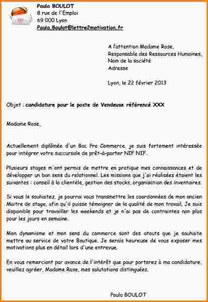 Lettre De Motivation Stage 3eme Commerce Exemple Lettre De Motivation Stage D Observation 3¨me Lettre De