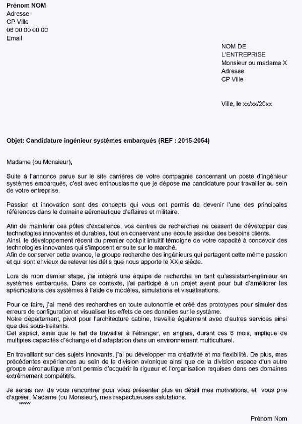 Lettre De Motivation Stage Bts Nrc 26 Exemple De Lettre De Motivation Aeronautique