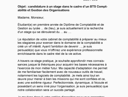 Lettre De Motivation Stage Bts Nrc Buyintuscany