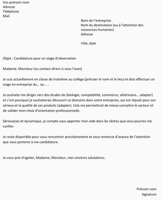 Lettre De Motivation Stage Maison De Retraite Sans Experience 13 Lettre De Motivation Saisonnier Sans Experience