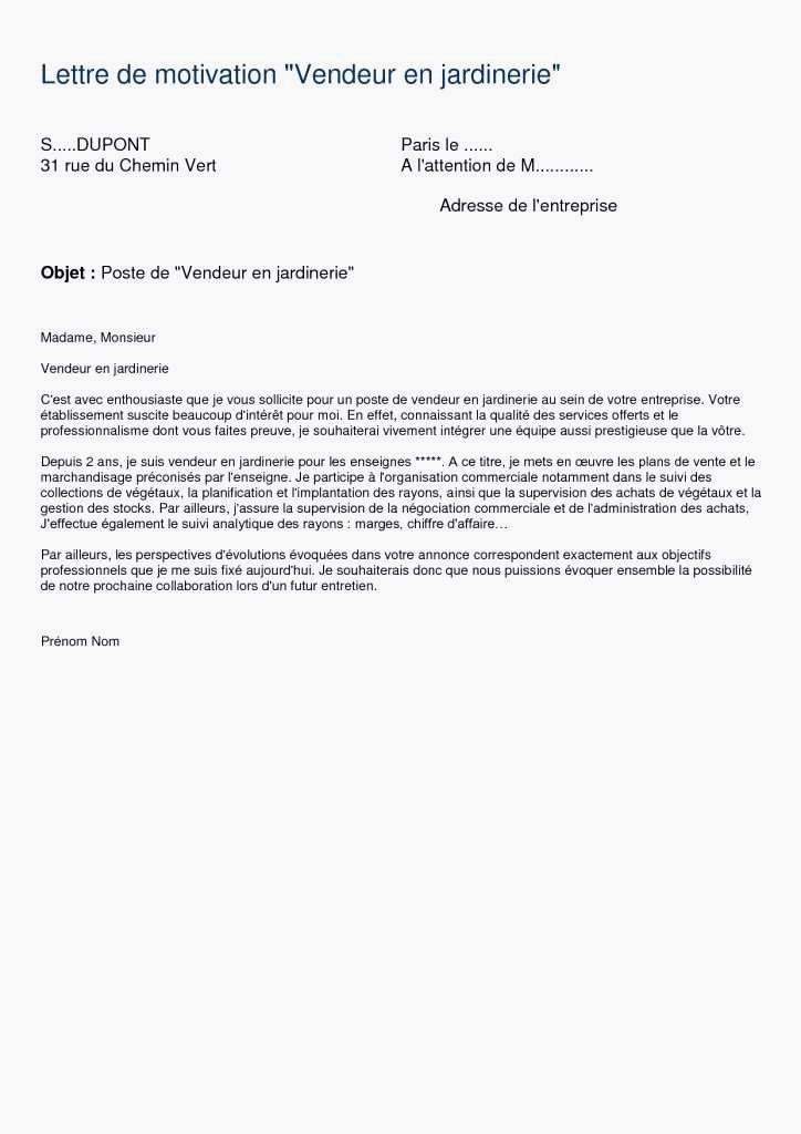 Lettre De Motivation Street Marketing 15 Modele De Lettre De Motivation Vendeuse Letter Motivation