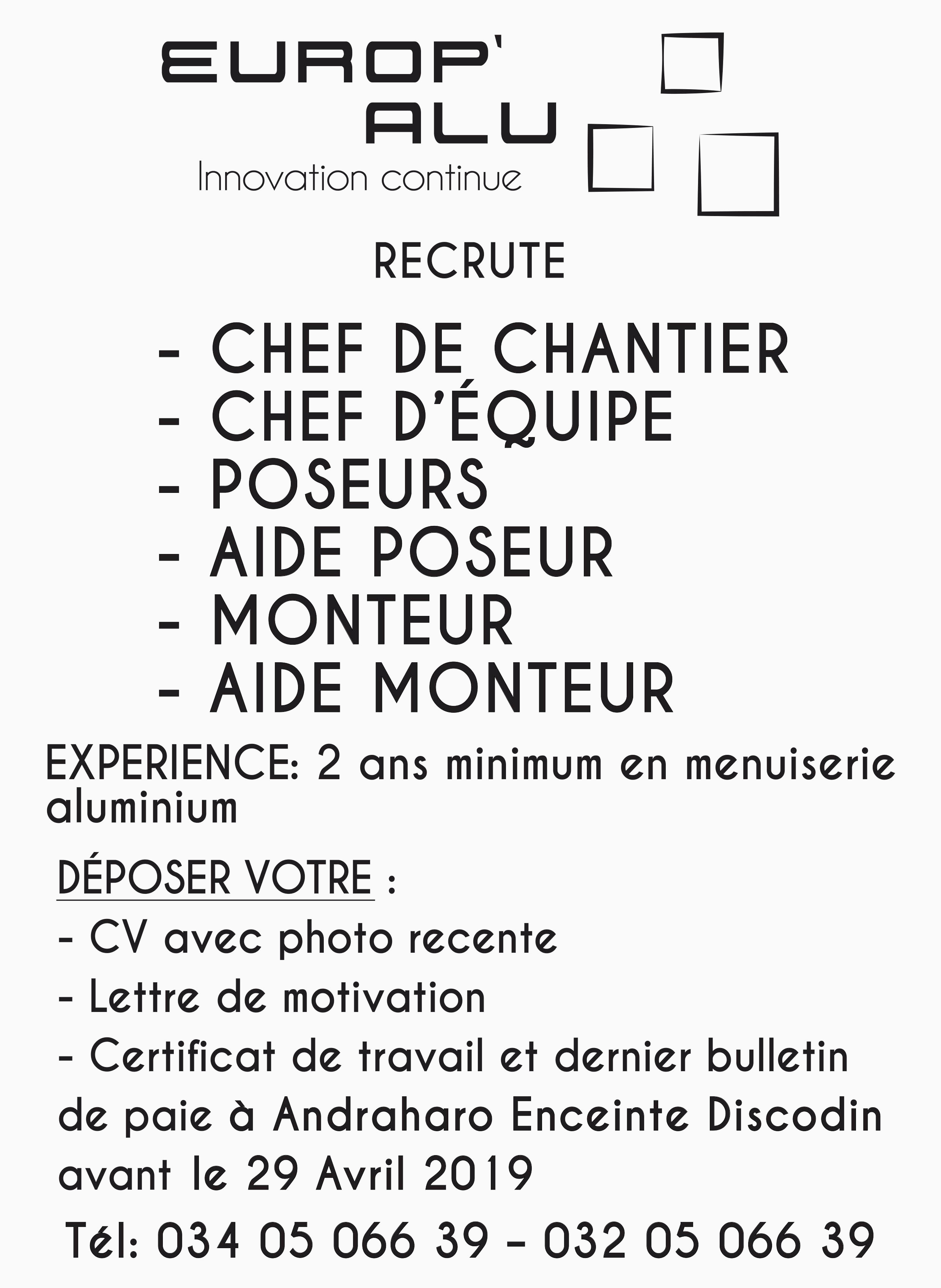 Lettre De Motivation Street Marketing Cv Menuisier Poseur