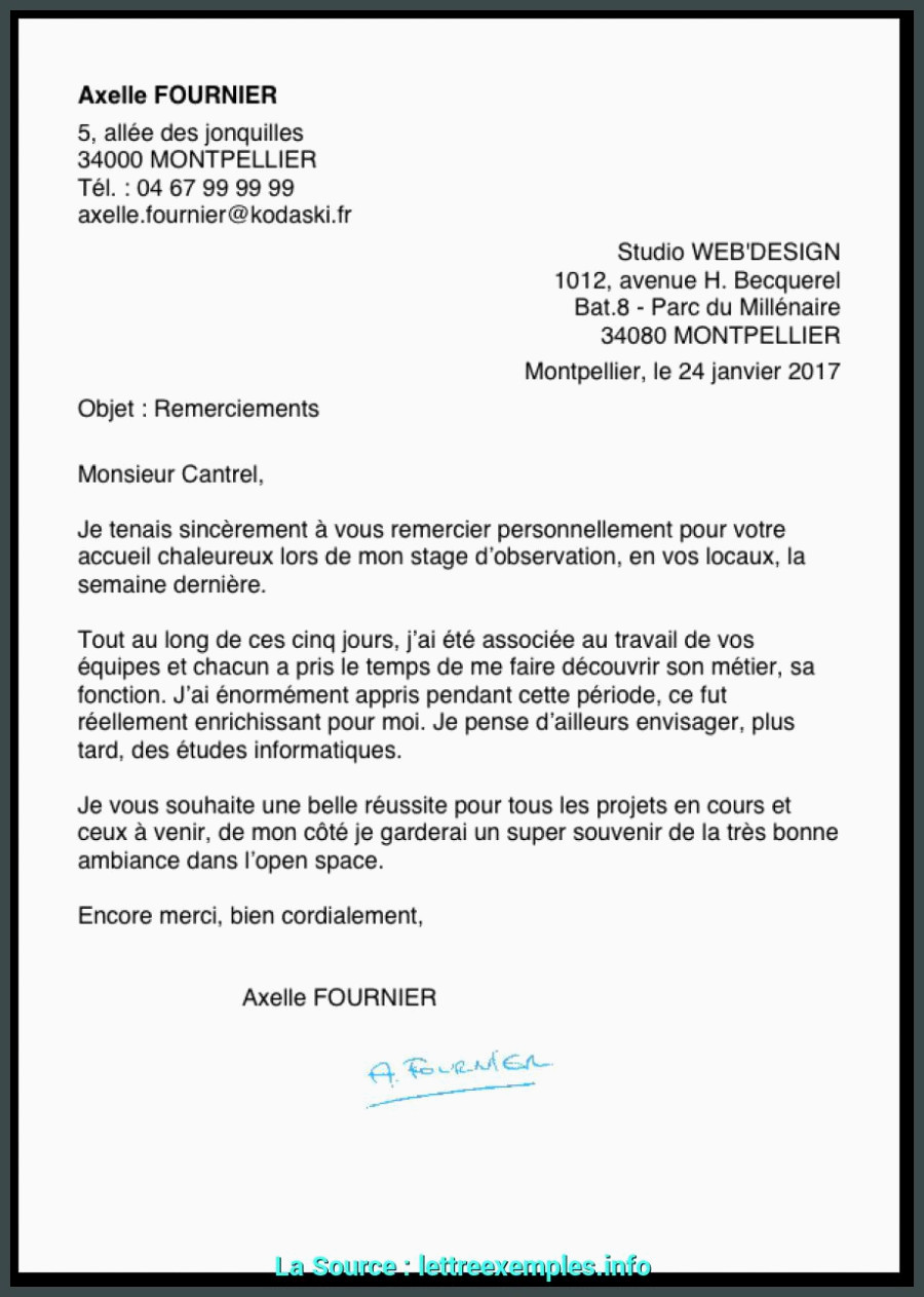 Lettre De Motivation Super U Pratique Lettre De Motivation Pour Stage D Observation En Creche