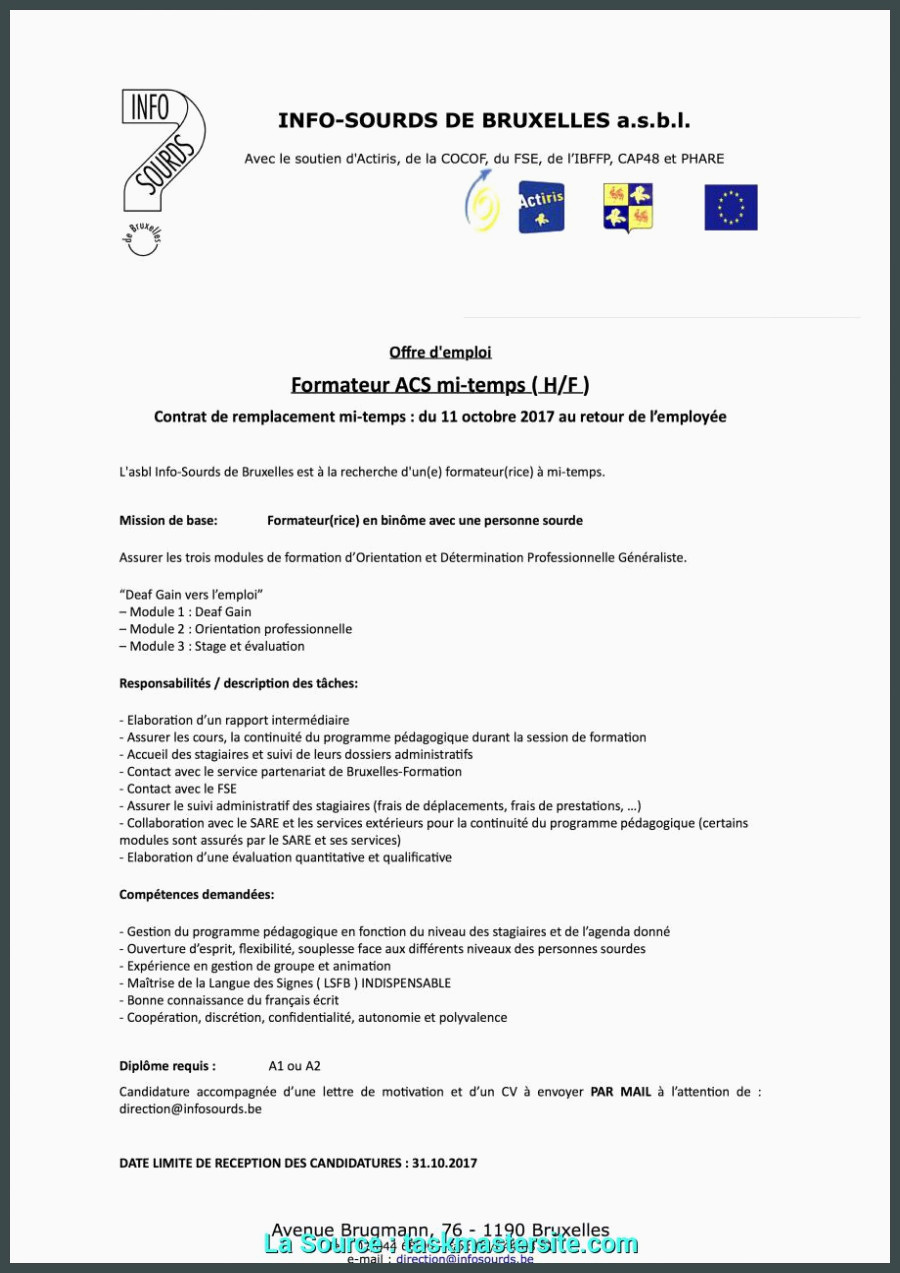Lettre Motivation Animateur Idéal Exemple Lettre De Motivation Stage D Immersion Modele Cv Stage