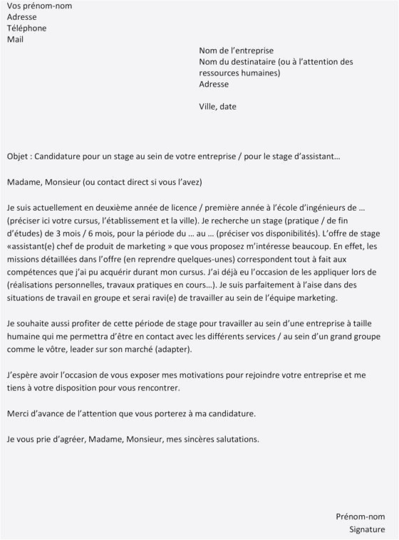 Lettre Motivation Stage Informatique 39 Lettre De Motivation formation Technicien D assistance En