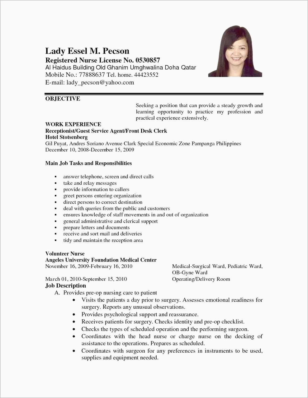 Modele De Lettre Administrative Gratuite Pdf Cv Pdf Gratuit Bel 33 Luxury Free Loft Resume Templates – Collection