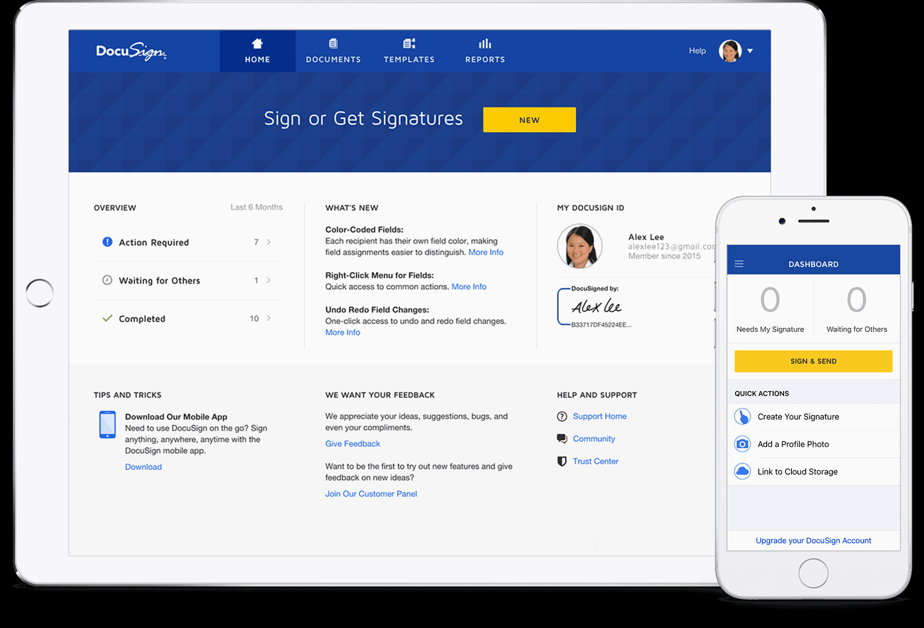 Numero De Contrat Free Mobile Docusign