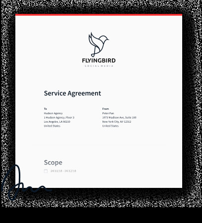 Numero De Contrat Free Mobile the Freelance Contract A Free Service Agreement